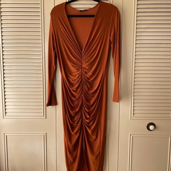 ASOS Club L Rust Dress